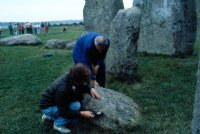 The DPT conducted a brief monitoring session at Stonehenge to see if any stone showed magnetic anomalies. None of the ones checked did so