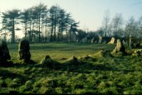 This stone circle is at the centre of the Rollright Stones complex, which formed the field HQ of the DPT. Of course, as will be seen in this gallery, other sites far afield were monitored as well, though inevitably less thoroughly